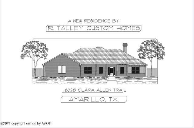 8320 Clara Allen Trl, Amarillo, TX 79118 (#21-4189) :: Keller Williams Realty