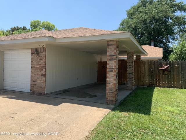 5304 Susan Dr, Amarillo, TX 79110 (#21-4631) :: RE/MAX Town and Country