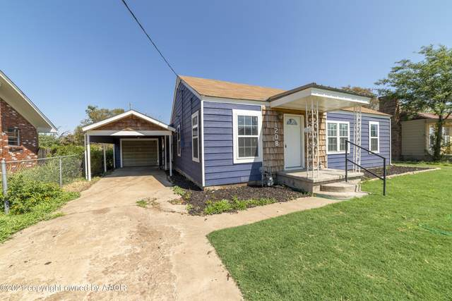 1208 Lindsey St, Borger, TX 79007 (#21-5382) :: RE/MAX Town and Country