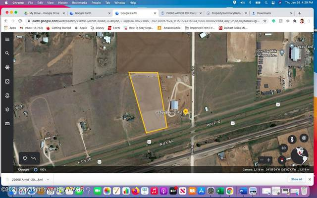 0 Us Hwy 60 Tract 2, Canyon, TX 79015 (#21-586) :: Elite Real Estate Group