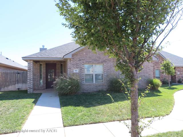 7413 Nick St, Amarillo, TX 79119 (#21-6096) :: RE/MAX Town and Country