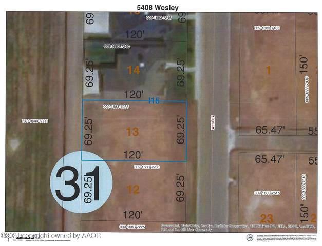 5408 Wesley Rd, Amarillo, TX 79119 (#21-6105) :: Keller Williams Realty