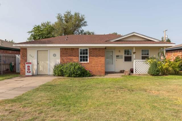 503 Hazel Ave, Panhandle, TX 79068 (#21-6174) :: Lyons Realty