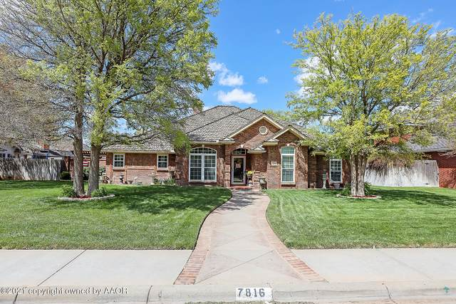 7816 Covington Pkwy, Amarillo, TX 79119 (#21-2278) :: Keller Williams Realty