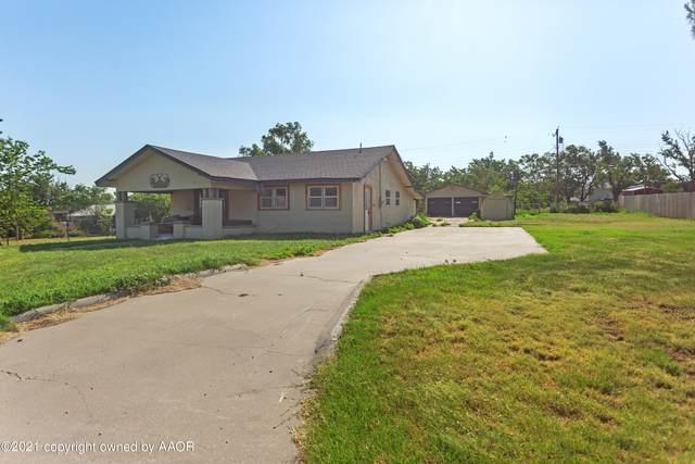 804 Choctaw, Shamrock, TX 79079 (#21-3695) :: Keller Williams Realty
