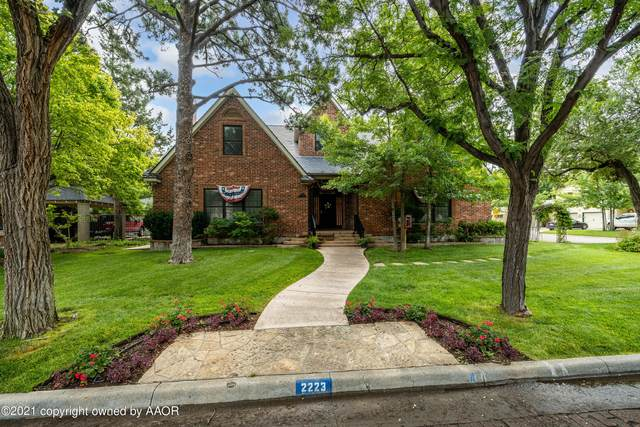 2223 Ong St, Amarillo, TX 79109 (#21-4001) :: RE/MAX Town and Country