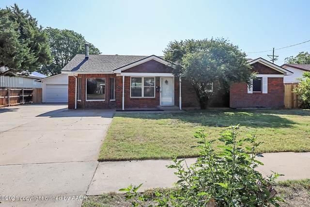 1119 Alta Vista St, Amarillo, TX 79106 (#21-4680) :: Keller Williams Realty