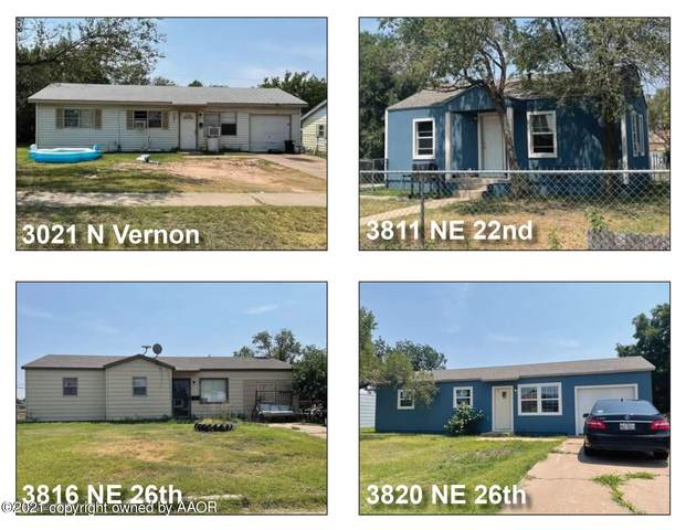 Single Family Investment Pkg, Amarillo, TX 79107 (#21-4992) :: Live Simply Real Estate Group