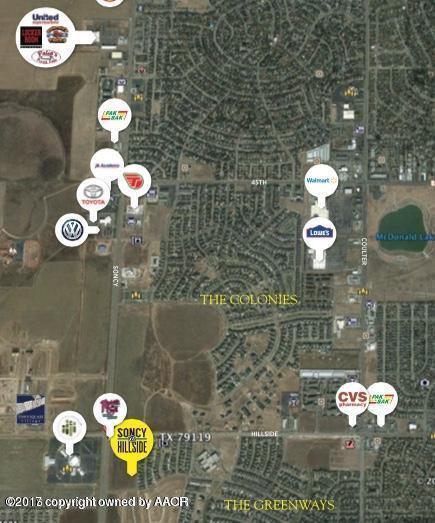 0 Hillside Rd, Amarillo, TX 79119 (#17-106683) :: Edge Realty