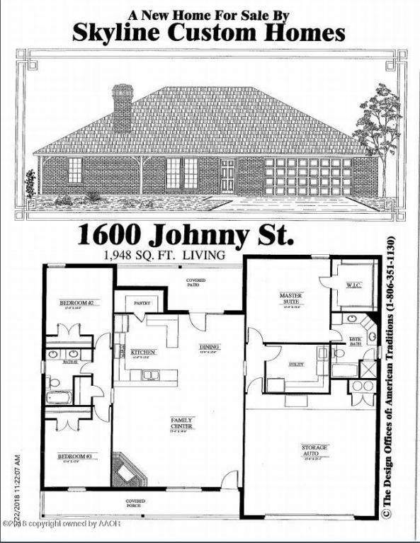 1600 Johnny Rd, Amarillo, TX 79124 (#18-113375) :: Edge Realty