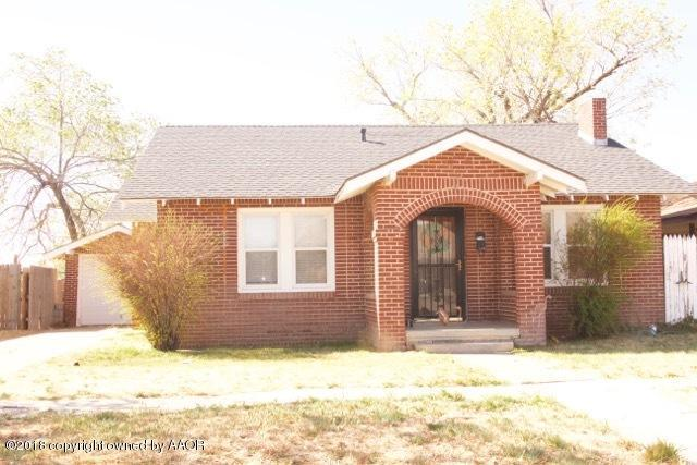 1808 7th Ave, Canyon, TX 79015 (#18-114100) :: Elite Real Estate Group