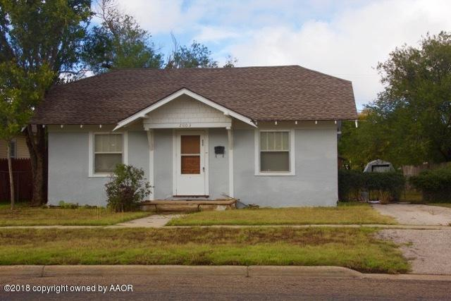 2003 5TH Ave, Canyon, TX 79015 (#18-118759) :: Elite Real Estate Group