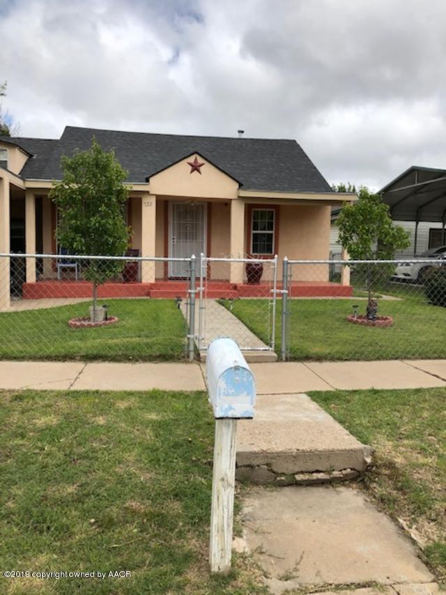722 Wilson St, Amarillo, TX 79107 (#19-3553) :: Lyons Realty