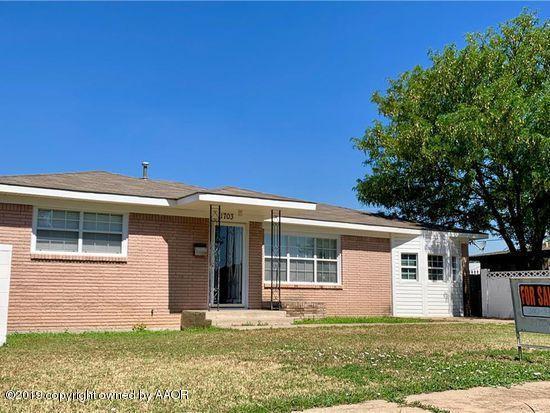 1703 Boyd St, Borger, TX 79007 (#19-5450) :: Elite Real Estate Group