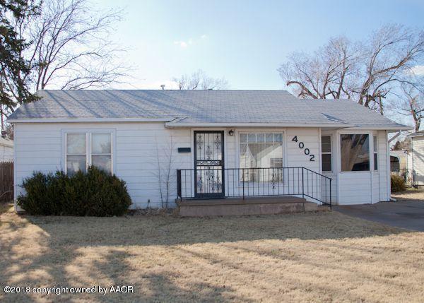 4002 Travis St, Amarillo, TX 79110 (#19-551) :: Edge Realty