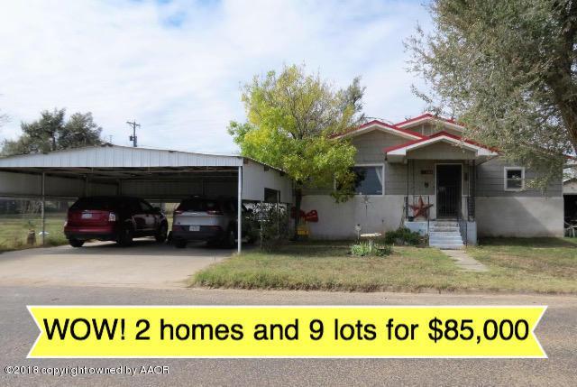 500 & 508 S Davis Ave., Stinnett, TX 79083 (#18-118895) :: Elite Real Estate Group