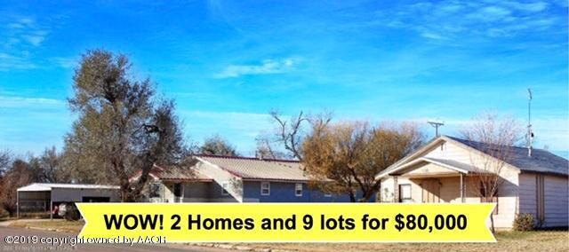 500 & 508 S Davis Ave., Stinnett, TX 79083 (#18-118895) :: Big Texas Real Estate Group