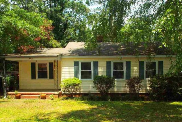 843 Crouch Drive, Pendleton, SC 29670 (MLS #20189145) :: Les Walden Real Estate