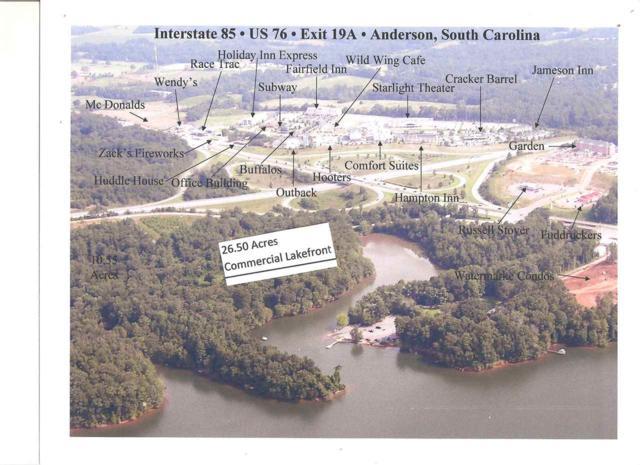 16.13 Ac. Royal American Road, Anderson, SC 29625 (MLS #20190080) :: Lake Life Realty