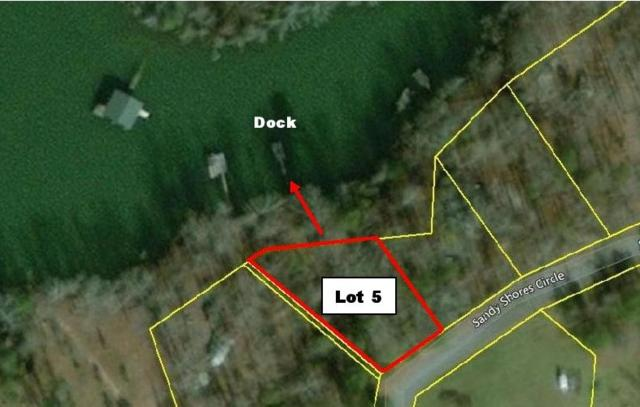 Lot 5 Sandy Shores Circle, Townville, SC 29689 (MLS #20194670) :: Tri-County Properties