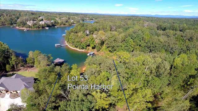Lot 53 Pointe Harbor, Seneca, SC 29672 (MLS #20196003) :: Tri-County Properties