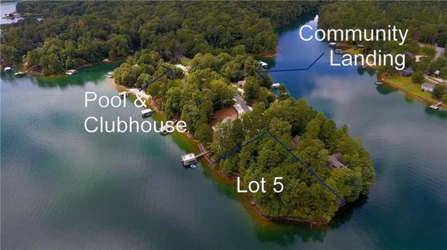 Lot 5 Turtlehead Drive, Salem, SC 29676 (MLS #20200305) :: Tri-County Properties