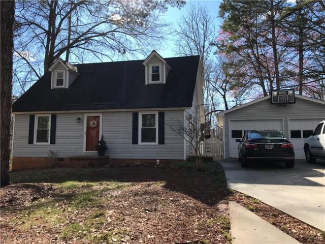 140 Evergreen Drive, Central, SC 29630 (MLS #20200649) :: Tri-County Properties