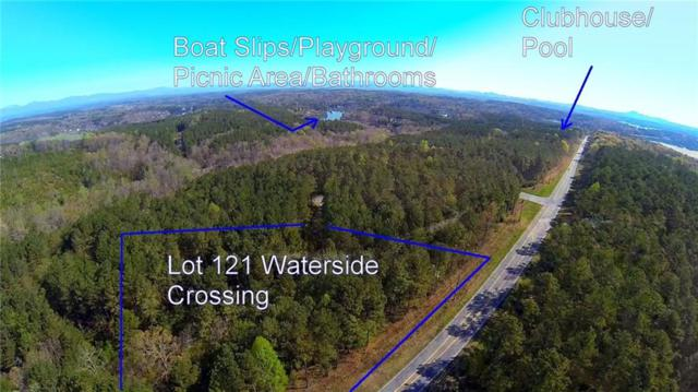 Lot 121 Waterside Crossing, Seneca, SC 29672 (MLS #20200724) :: The Powell Group of Keller Williams