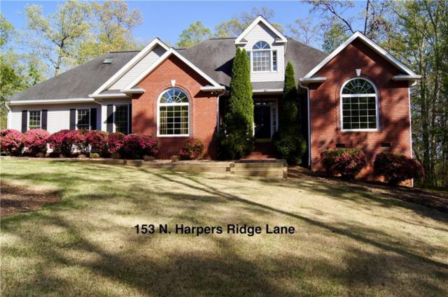 153 N Harpers Ridge Lane, Seneca, SC 29678 (MLS #20201932) :: Tri-County Properties