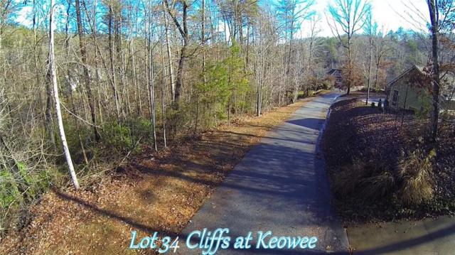 Lot 34 Cliffs At Keowee Trail, Sunset, SC 29685 (MLS #20201990) :: The Powell Group of Keller Williams