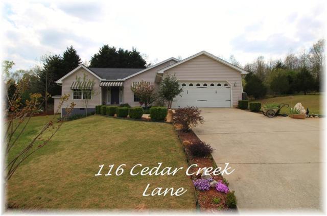 116 Cedar Creek Lane, Seneca, SC 29678 (MLS #20202010) :: Les Walden Real Estate
