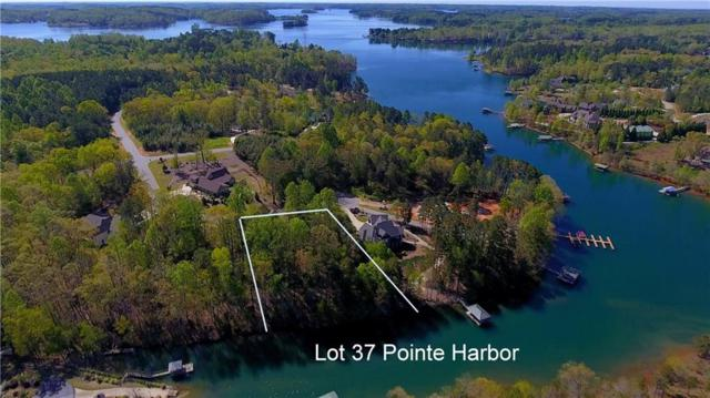 Lot 37 W Pointe Harbor, Seneca, SC 29672 (#20202209) :: Connie Rice and Partners