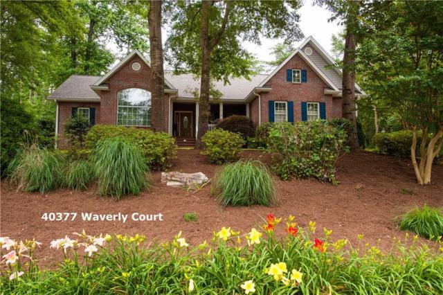 40377 Waverly Court, Seneca, SC 29678 (MLS #20203879) :: Les Walden Real Estate