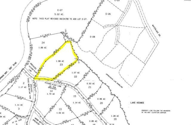 201 Pitcher Plant Lane, Sunset, SC 29685 (MLS #20204031) :: The Powell Group of Keller Williams