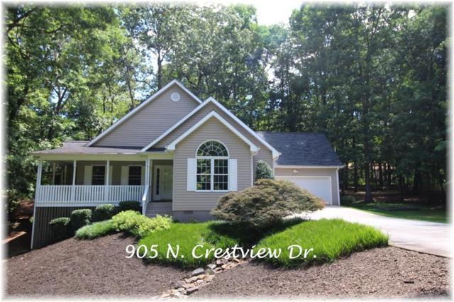 905 N Crestview Drive, Seneca, SC 29678 (MLS #20204280) :: Tri-County Properties