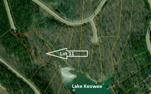 Lot 11 Windstone Court, Salem, SC 29676 (#20204467) :: Connie Rice and Partners