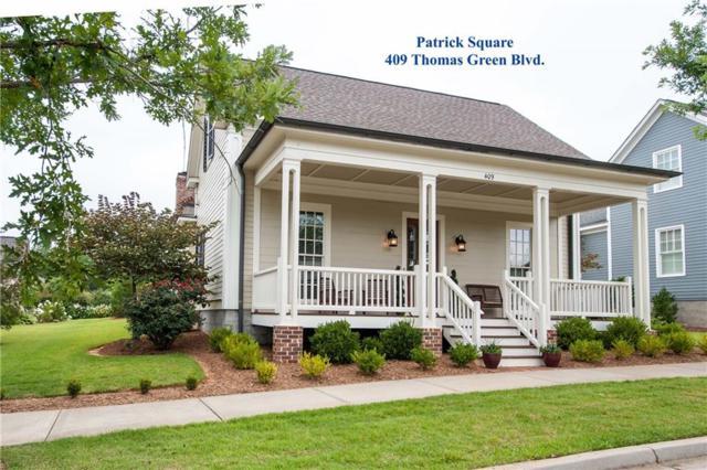 409 Thomas Green Boulevard, Clemson, SC 29631 (MLS #20205105) :: The Powell Group of Keller Williams