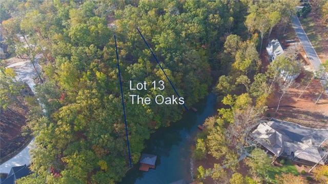 Lot 13 The Oaks At Lake Keowee, Seneca, SC 29672 (MLS #20205390) :: The Powell Group of Keller Williams