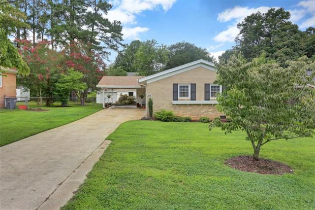 214 Edgewood Drive, Greenville, SC 29605 (MLS #20205860) :: The Powell Group of Keller Williams