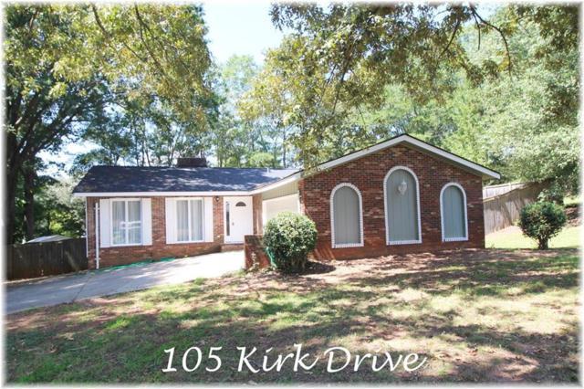 105 Kirk Drive, Seneca, SC 29678 (MLS #20207846) :: The Powell Group of Keller Williams