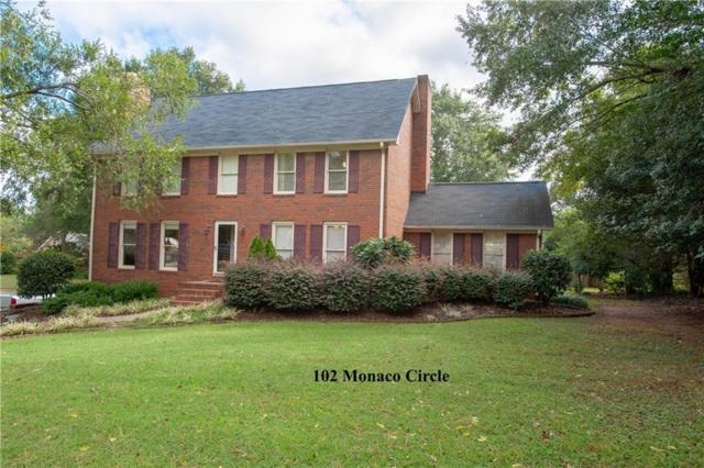 102 Monaco Circle, Clemson, SC 29631 (MLS #20207859) :: The Powell Group of Keller Williams