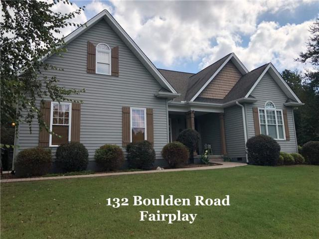 132 Boulden Road, Fair Play, SC 29643 (MLS #20208975) :: Allen Tate Realtors