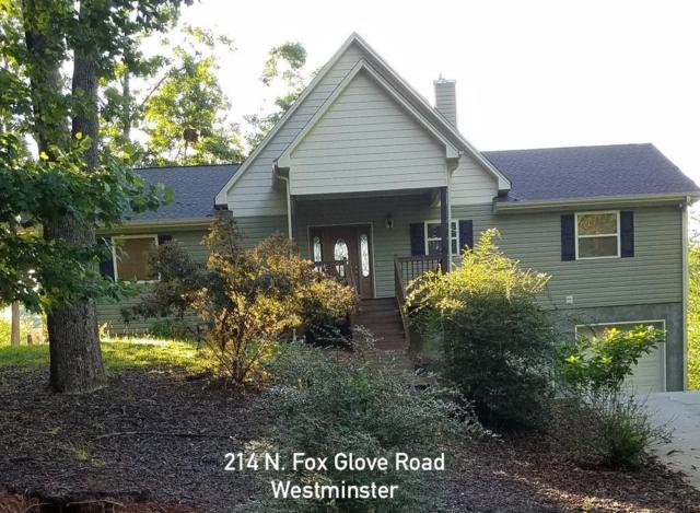 214 N Fox Glove Road, Westminster, SC 29693 (MLS #20209066) :: The Powell Group of Keller Williams