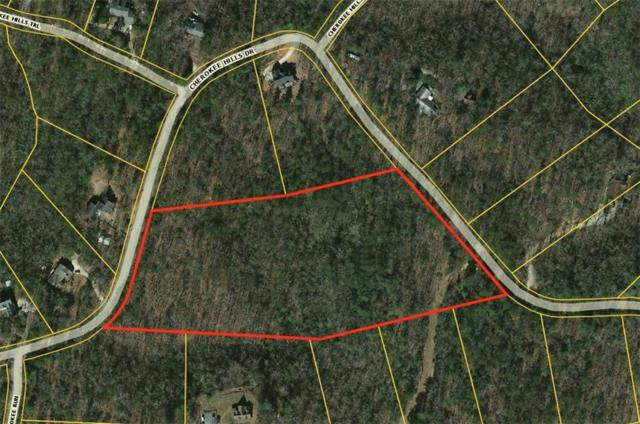 00 Cherokee Hills Drive, Pickens, SC 29671 (MLS #20209271) :: Tri-County Properties