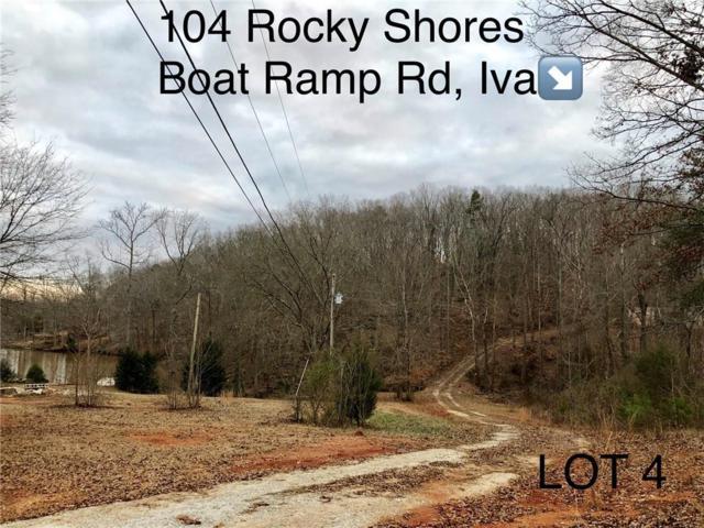 104 mb Rocky Shore Boat Ramp Road, Iva, SC 29655 (MLS #20209479) :: The Powell Group of Keller Williams