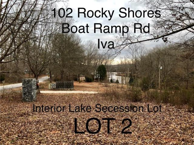 102 Rocky Shore Boat Ramp Road, Iva, SC 29655 (MLS #20209480) :: Tri-County Properties