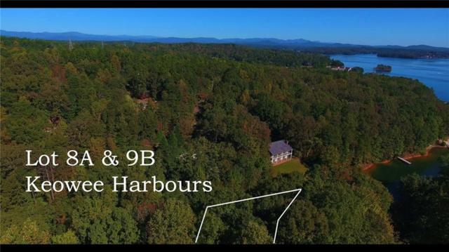 Lot 8 & 9A Keowee Harbours, Salem, SC 29676 (MLS #20209733) :: Tri-County Properties