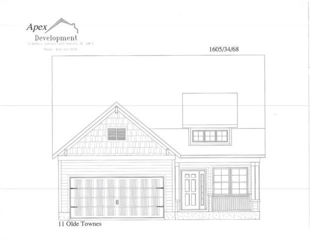 137 Olde Towne Drive, Anderson, SC 29621 (MLS #20210667) :: Les Walden Real Estate