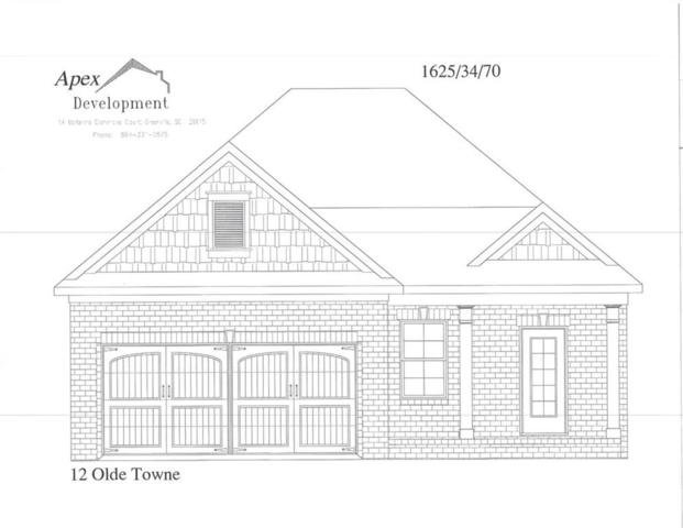 139 Olde Towne Drive, Anderson, SC 29621 (MLS #20210669) :: Les Walden Real Estate