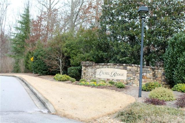 Lot 38 Sailview Drive, Seneca, SC 29672 (#20213145) :: Connie Rice and Partners